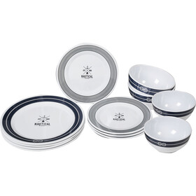 Brunner Midday Set de platos, design nautical